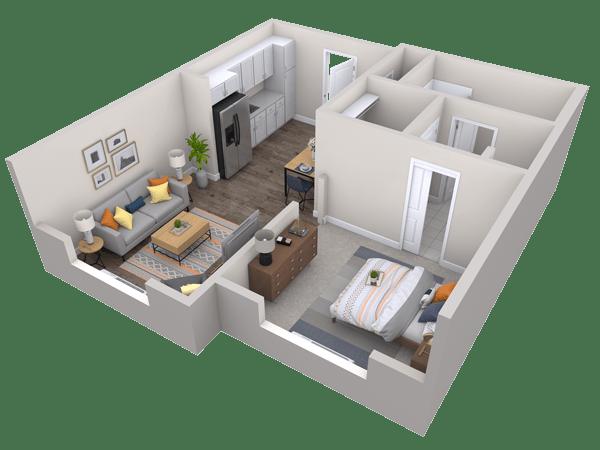 Cedar Springs Floor Plan View