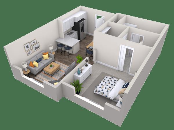 Cypress Springs Floor Plan Layout
