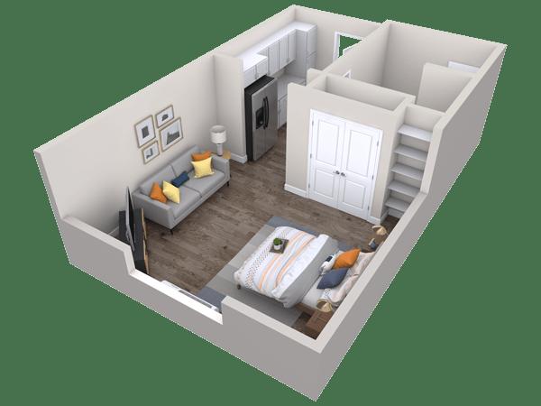 Holly Springs Floor Plan View