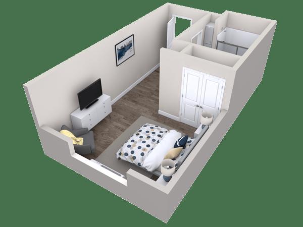 Las Moras Springs Floor Plan Layout
