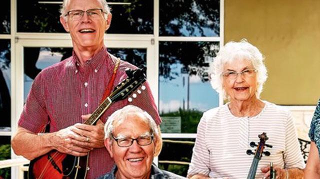 Seniors Holding Instruments