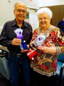 Residents celebrating fathers day