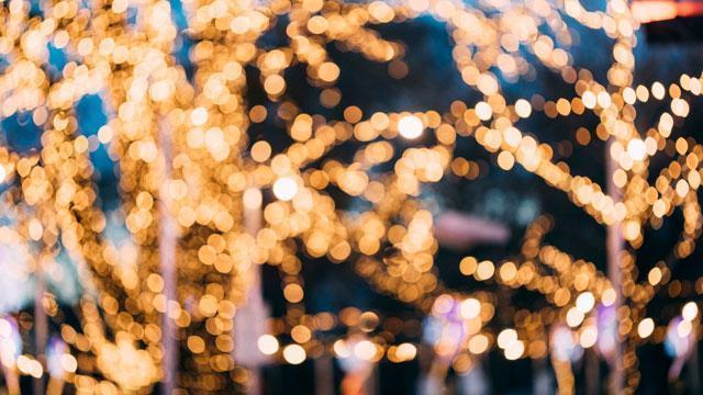 Holiday lights at Hidden Springs of McKinney